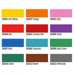 KREUL Lackmarker Lackmalstift Copicmarker Rundspitze medium Hobby Line neon-pink