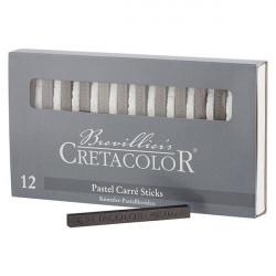 CRETACOLOR - 12 x Graphite Sticks - 7x7 mm