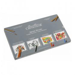 CRETACOLOR - Artist Studio - Sketching and Drawing Set - 72 Pieces