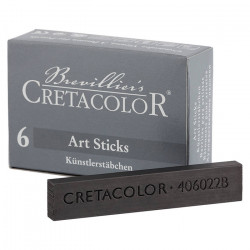 CRETACOLOR - 6 x Graphite Sticks - 7x14 mm - 2B