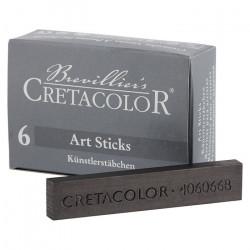 CRETACOLOR - 6 x Graphite Sticks - 7x14 mm - 6B