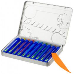 JOLLY - 10 SUPER-WAXIES AQUA - Crayons de Cire Aquarellables