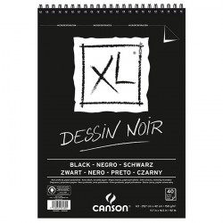 Canson® - XL® Black - 40 Sheets - 150 gsm - A3 Size