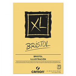 Canson® - XL® Bristol - Block - 50 Sheets - 180 gsm - A3 Size