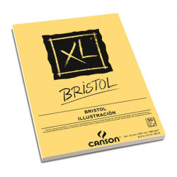 Canson® - XL® Bristol - Block - 50 Sheets - 180 gsm - A4 Size