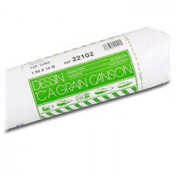"""Canson® - """"C"""" à Grain® (CAG) - Roll of 1.50 x 10M - 125 gsm"""