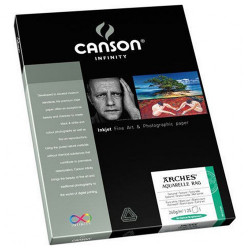 Canson® - Infinity® Aquarelle Rag - 25 Sheets - 240 gsm - A3+ Size