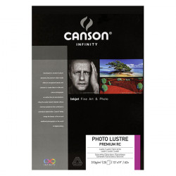Canson® - Infinity® Photo Lustre Premium RC - 25 Sheets - 310 gsm - A3+ Size