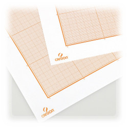 Canson® - Millimeter Graph Paper - Bistre - 50 x 65 cm - 100 gsm