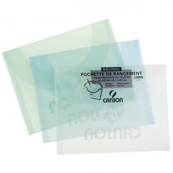Canson® - Pochette de Rangement - Polypropylène - 500μ - 27 x 35 cm