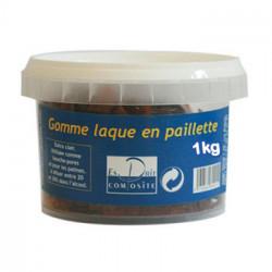 Gomme Laque en Paillettes - Brunes - 1kg