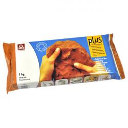 SIO-2 - Argile PLUS - Pâte Autodurcissante - 1kg - Terracotta