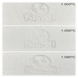 Faïence Blanche Chamottée - Argile - 1050-1080°C - PA/CHF - 0-0.5mm