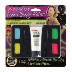 Kit Maquillage MULTI GLOW - BLACK LIGHT KIT