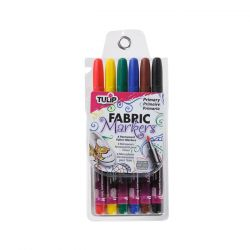 TULIP - Fabric Markers - Fine Tip - Primary Pack - Lot of 6