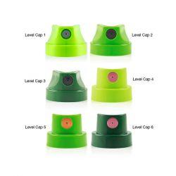 MONTANA CANS - Spray CAP - Level 2 Cap - Fine Skinny - Fin - Sachet de 6