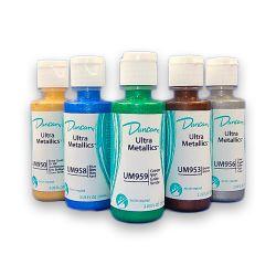 Duncan - Ultra Metallics™ - Water-Based Metallic Acrylic Paints - 2OZ