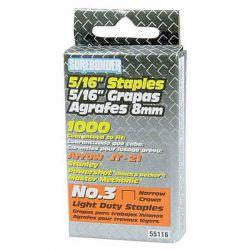 """FPC Corporation - SUREBONDER - Staples for Wall Stapler - Light Duty - 5/16"""" - Box of 1000"""