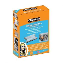 Résine Glaçage - 210ml - Cléopâtre - Epoxy - Glass`100 (FLEX) - Glass'Flex epoxy resin 210 ml