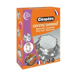 Résine Epoxy - 360ml - Cléopâtre - Crystal'Glass (Diamond)