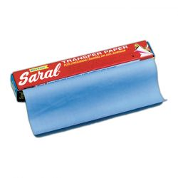Papier Carbone 40x60cm 1F - Transfert - Bleu - Saral® - OZ