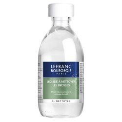 Liquide à Nettoyer Brosses - 250ml - Additif Huile - Lefranc & Bourgeois
