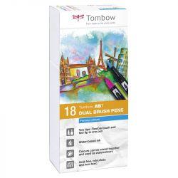 Tombow - ABT - Set de 18 - Couleurs Primaires