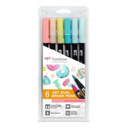 Tombow - ABT - Set of 6 - Candy Colors