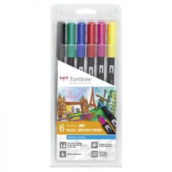 Tombow - ABT - Set of 6 - Primary Colors