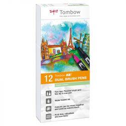 Tombow - ABT - Set de 12 - Couleurs Pastels