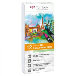 Tombow - ABT - Set of 12 - Pastel Colors