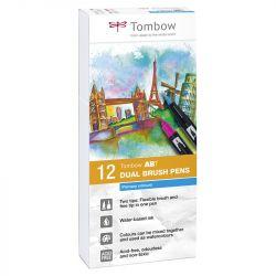 Tombow - ABT - Set de 12 - Couleurs Primaires