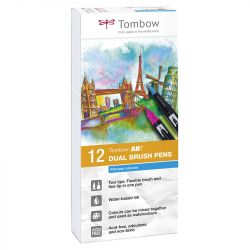 Tombow - ABT - Set of 12 - Primary Colors