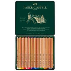 Faber-Castell - Pitt Pastel - Tin Box of 24 Pastel Pencils