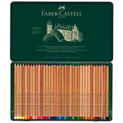 Faber-Castell - Pitt Pastel - Tin Box of 36 Pastel Pencils