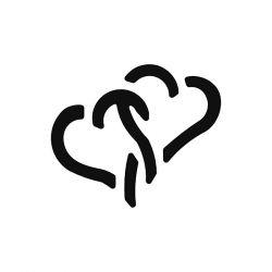 ARTEMIO - Lever Punch - S - Heart - 2.5cm