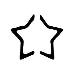 ARTEMIO - Craft Punch Silhouette / Pop Up - Star