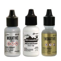 Ranger Ink - Tim Holtz® - Adirondack - Alcohol Ink - 14ml - Mixatives