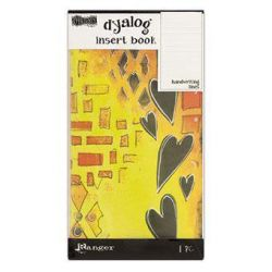 Dylusions Dyalog Handwriting Lines Insert Book - dyt60529