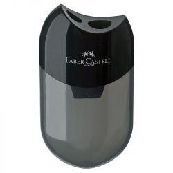 Faber-Castell - 2 Trous - Noir - Taille-Crayon - Réserve