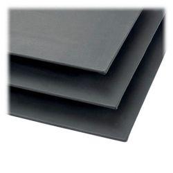 Phoenix - Cartons Entoilés - 3mm - Coton - Noir